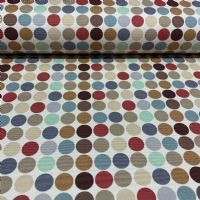Spotted Cotton Duck Fabric