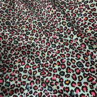 Browse Bright Leopard Print Jersey