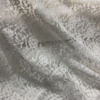 Ivory Geometric Floral Lace